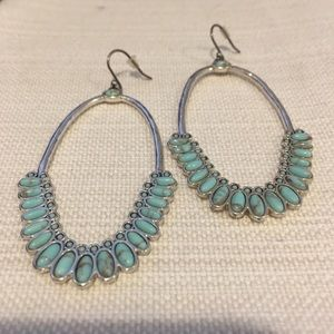 Lucky Brand Boho Turquoise Earrings